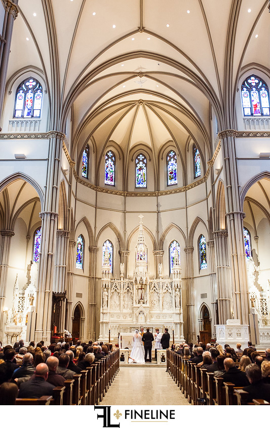Pittsburgh's Grand Hall at the Priory Wedding Reception